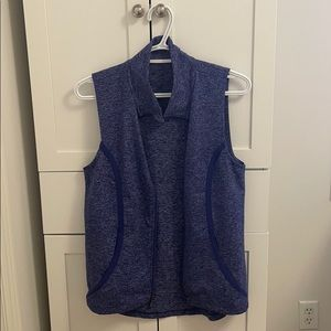 Under Armour Heathered Blue Sonic Athletic Vest